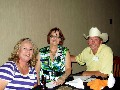 Lori Horner, Kathi Brundage Myers. and Rex McGee at the Bricktown Reunion